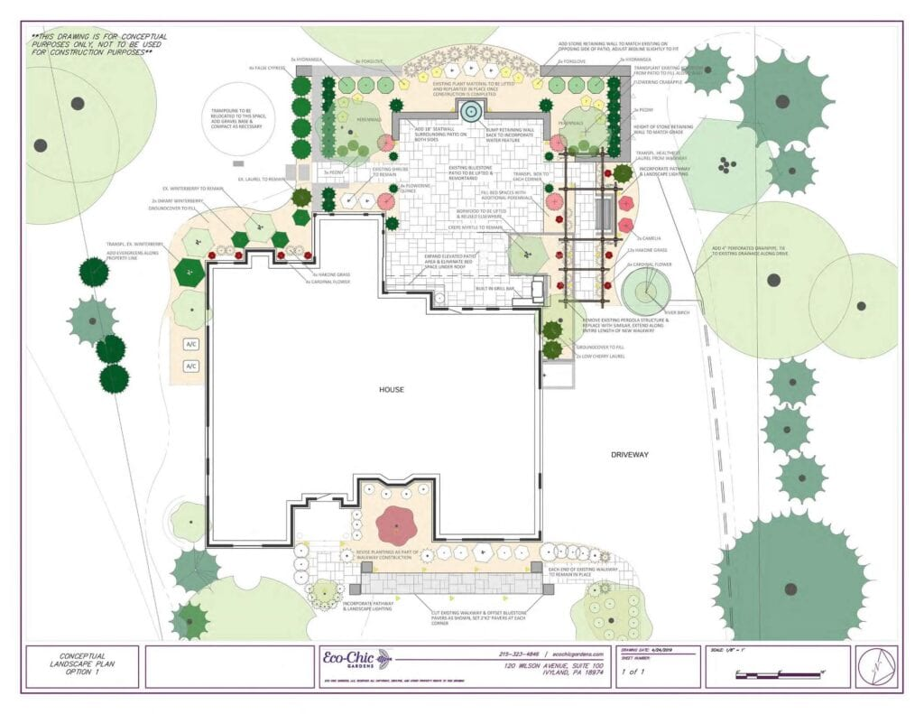 New Hope, PA Landscape Design Services_rendered